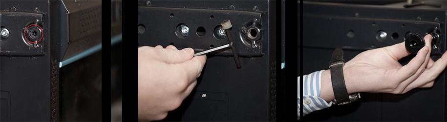 Hoe plaats ik stelpoten onder de serverkast?
