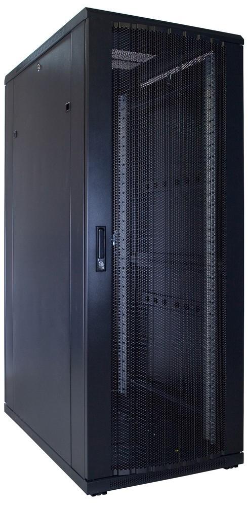 Afbeelding van 32U Patchkast met geperforeerde deur 600x1000x1600mm (BxDxH)
