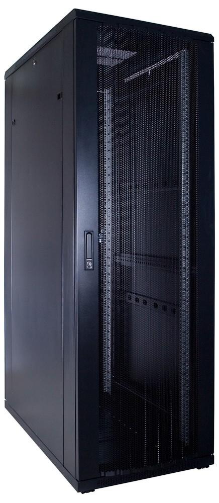 Afbeelding van 37U Patchkast met geperforeerde deur 600x1000x1800mm (BxDxH)