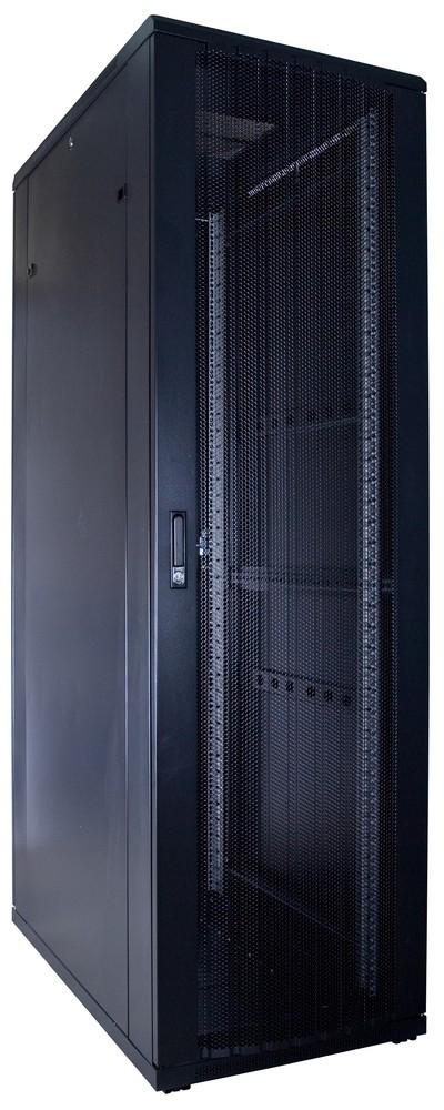 Afbeelding van 42U Patchkast met geperforeerde deur 600x1000x2000mm (BxDxH)