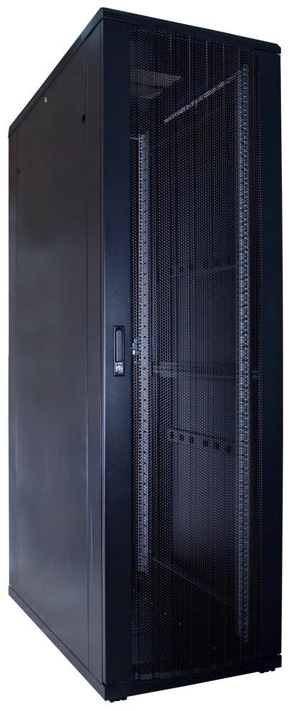 Afbeelding van 42U Patchkast met geperforeerde deur 600x1200x2000mm (BxDxH)