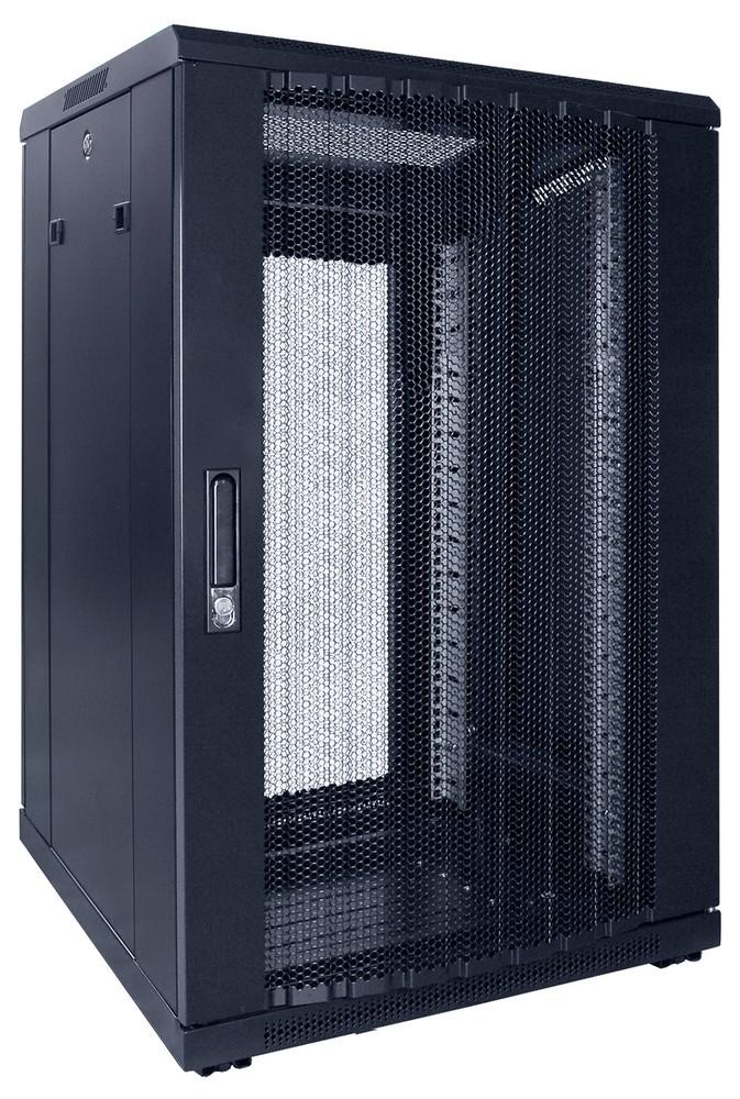 Afbeelding van 18U Patchkast met geperforeerde deur 600x600x1000mm (BxDxH)