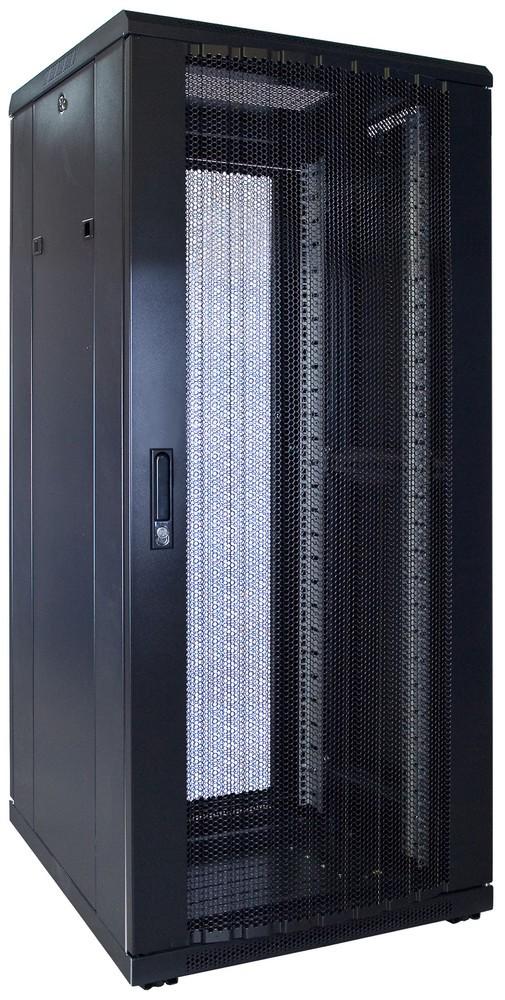 Afbeelding van 27U Patchkast met geperforeerde deur 600x600x1400mm (BxDxH)