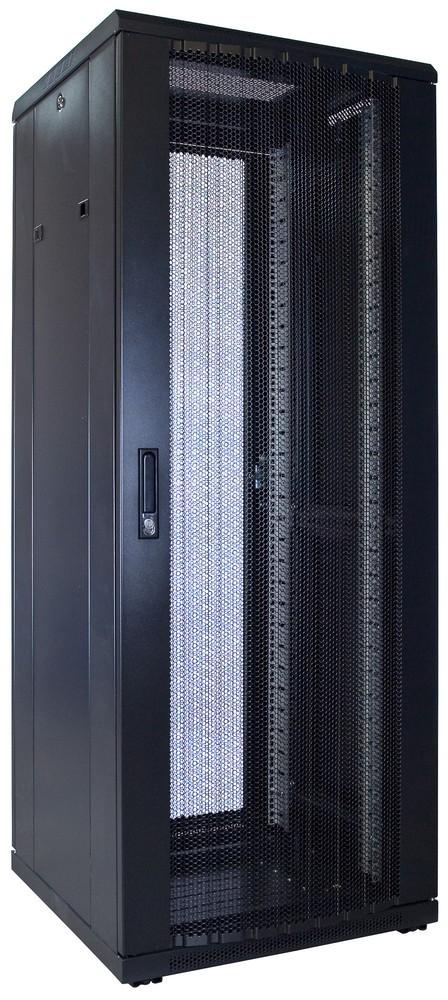 Afbeelding van 32U Patchkast met geperforeerde deur 600x600x1600mm (BxDxH)