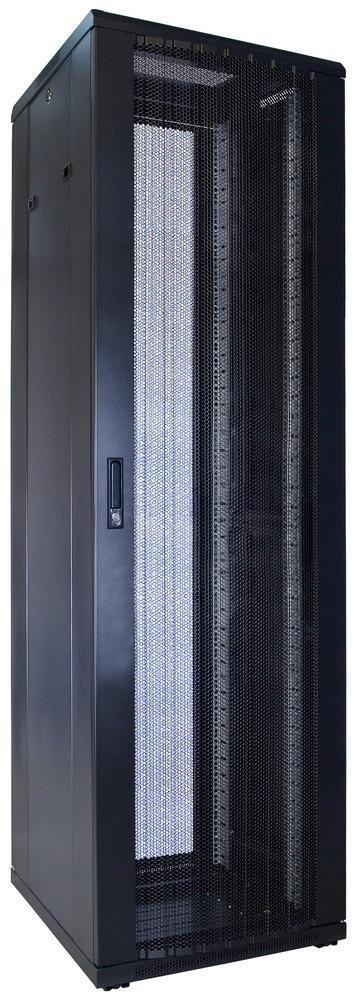 Afbeelding van 42U Patchkast met geperforeerde deur 600x600x2000mm (BxDxH)