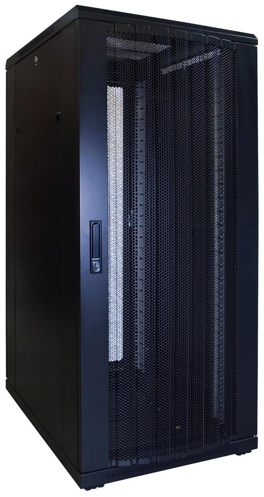 Afbeelding van 27U Patchkast met geperforeerde deur 600x800x1400mm (BxDxH)