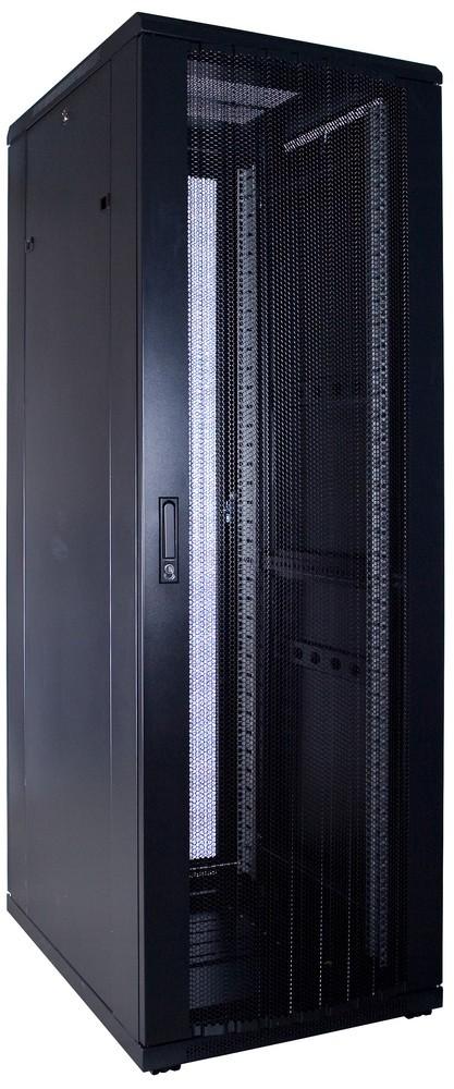 Afbeelding van 37U Patchkast met geperforeerde deur 600x800x1800mm (BxDxH)