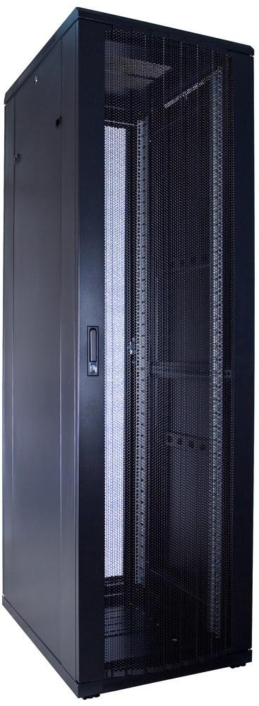 Afbeelding van 42U Patchkast met geperforeerde deuren 600x800x2000mm (BxDxH)