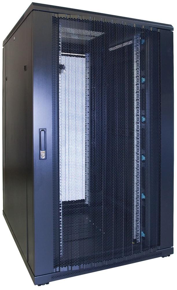 Afbeelding van 27U Patchkast met geperforeerde deur 800x1000x1400mm (BxDxH)