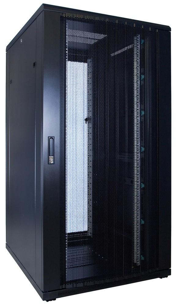 Afbeelding van 32U Patchkast met geperforeerde deur 800x1000x1600mm (BxDxH)