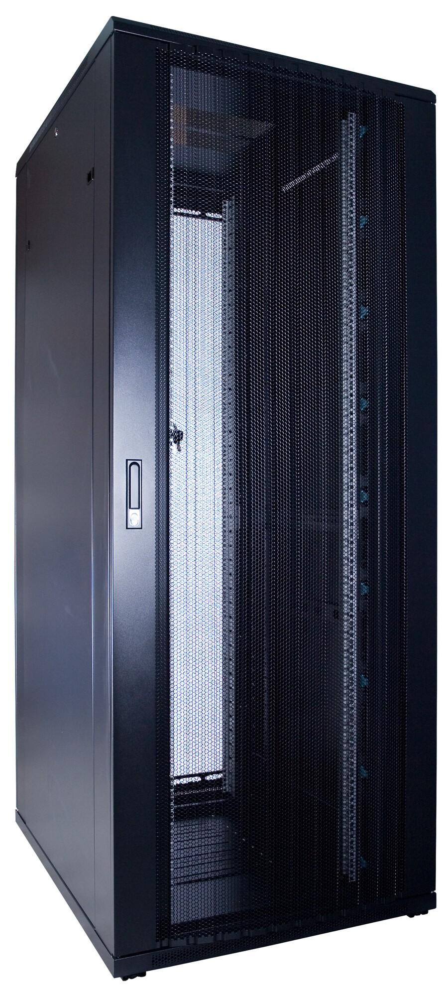 Afbeelding van 47U Patchkast met geperforeerde deur 600x1000x2200mm (BxDxH)