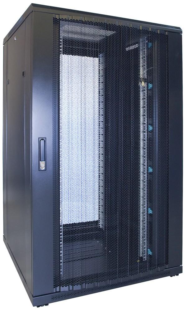 Afbeelding van 27U Patchkast met geperforeerde deur 800x800x1400mm (BxDxH)