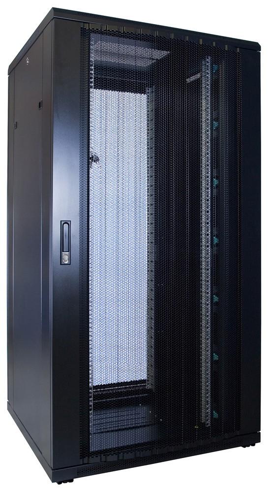 Afbeelding van 32U Patchkast met geperforeerde deur 800x800x1600mm (BxDxH)