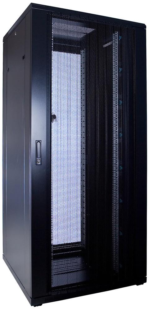 Afbeelding van 37U Patchkast met geperforeerde deur 800x800x1800mm (BxDxH)