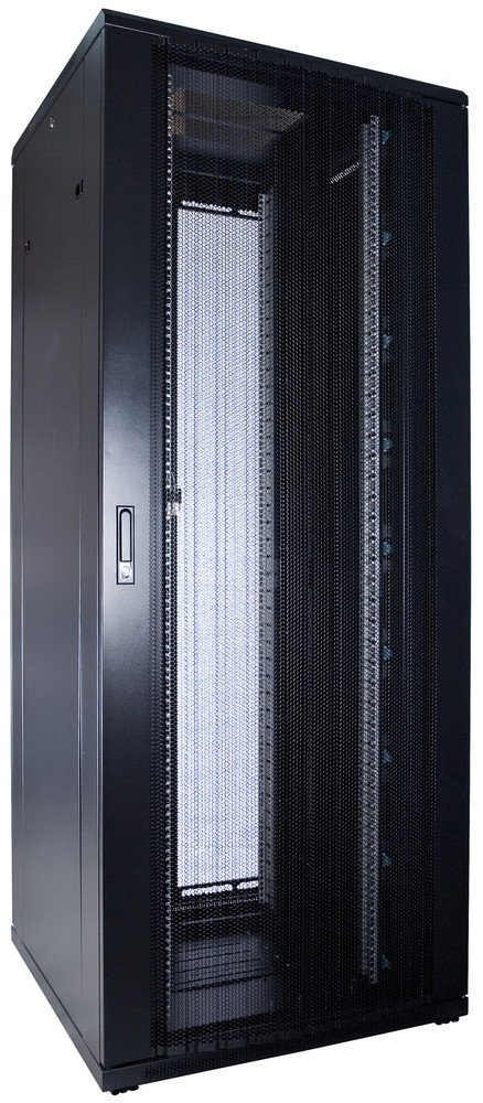 Afbeelding van 47U Patchkast met geperforeerde deur 800x800x2200mm (BxDxH)