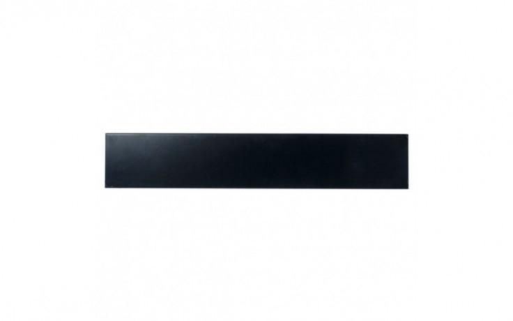 Afbeelding van 2 U 19 inch toolless plastic afdekpaneel in zwart voor patchkasten