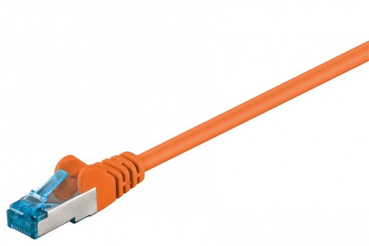 Afbeelding van CAT6a S/FTP (PIMF) 15m oranje