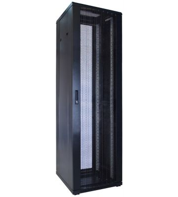 42U Patchkast met geperforeerde deur 600x600x2000mm (BxDxH)