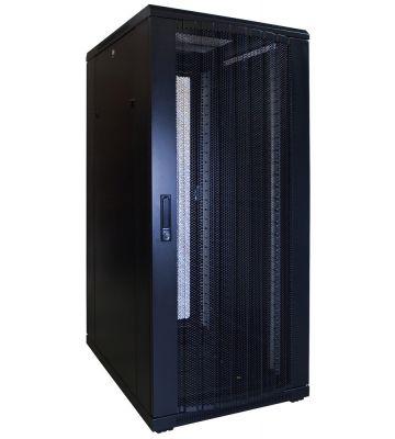 27U Patchkast met geperforeerde deur 600x800x1400mm (BxDxH)