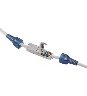 STP CAT6a Toolless Slim Cable Connector