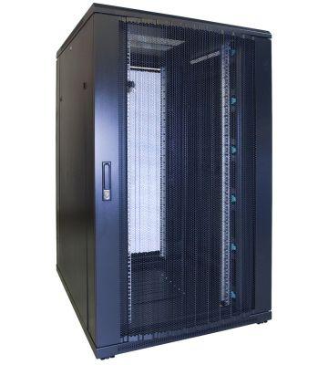 27U Patchkast met geperforeerde deur 800x1000x1400mm (BxDxH)