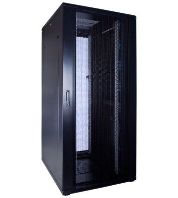 37U Patchkast met geperforeerde deur 800x1000x1800mm (BxDxH)