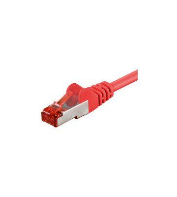 CAT6 SSTP/PIMF 0,25m rood