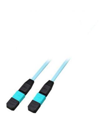 OM4 glasvezel kabel F-F 12 vezels MTP/MPO Type A 50 meter