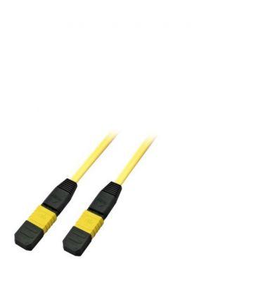 OS2 glasvezel kabel F-F 12 vezels MTP/APC/MPO Type A 20 meter