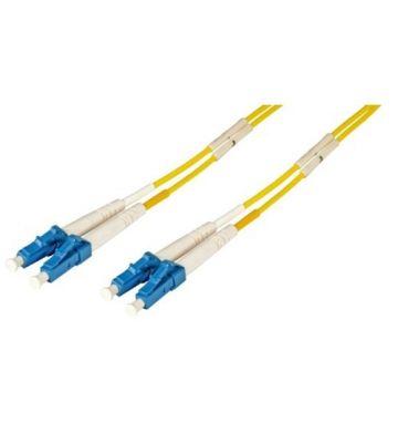 OS2 duplex glasvezel kabel LC-LC 1m