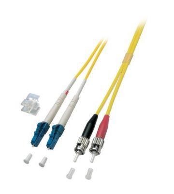 OS2 duplex glasvezel kabel LC-ST 3m