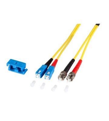 OS2 duplex glasvezel kabel SC-ST 1m