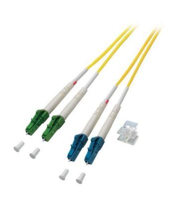 OS2 duplex glasvezel kabel LC/APC-LC 2m