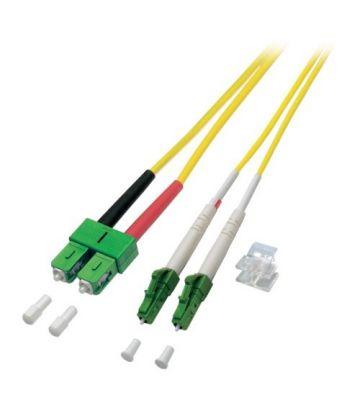 OS2 duplex glasvezel kabel LC/APC-SC/APC 7,50m