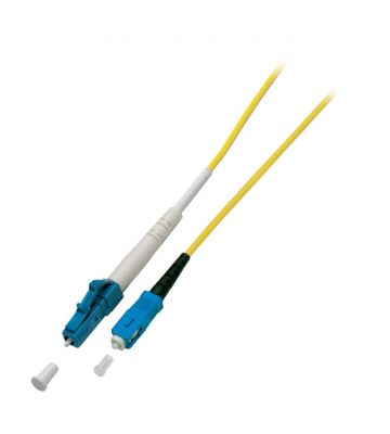 OS2 simplex glasvezel kabel LC-SC 1m