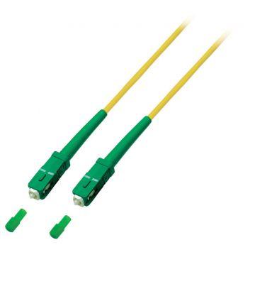OS2 simplex glasvezel kabel SC/APC-SC/APC 15m