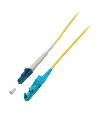OS2 simplex glasvezel kabel E2000-LC 1m