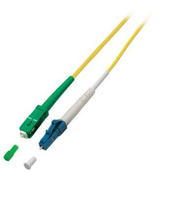 OS2 simplex glasvezel kabel SC/APC-LC 3m