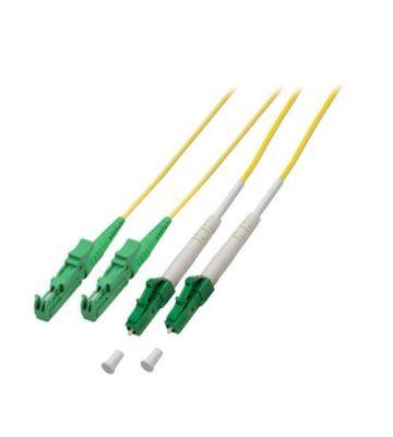 OS2 duplex glasvezel kabel E2000/APC-LC/APC 5m