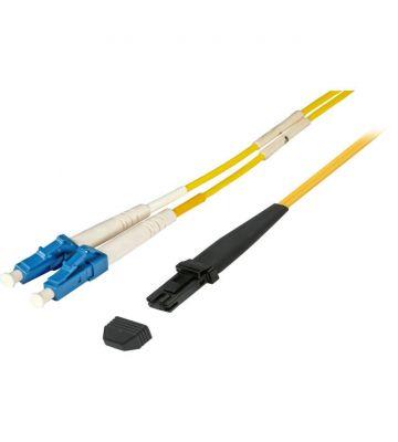 OS2 duplex glasvezel kabel MTRJ-LC 1m