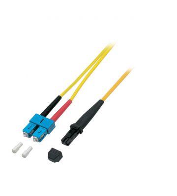 OS2 duplex glasvezel kabel MTRJ-SC 7,50m