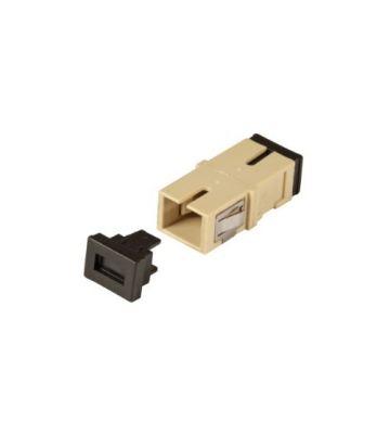 Multimode keystone koppeling SC-SC simplex beige