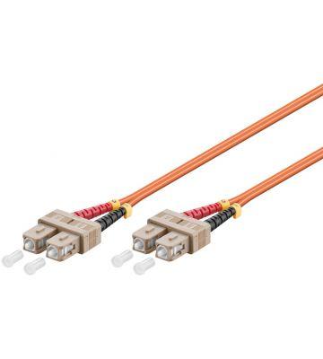 Glasvezel kabel SC-SC OM2 (laser optimized) 7,5 m