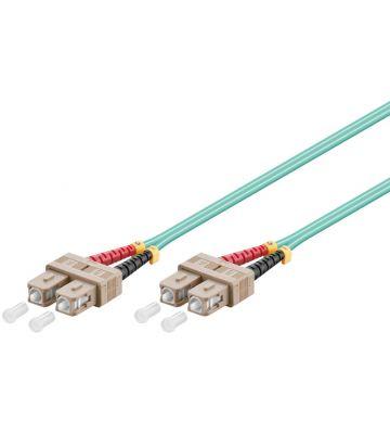 Glasvezel kabel SC-SC OM3 (laser optimized) 1 m