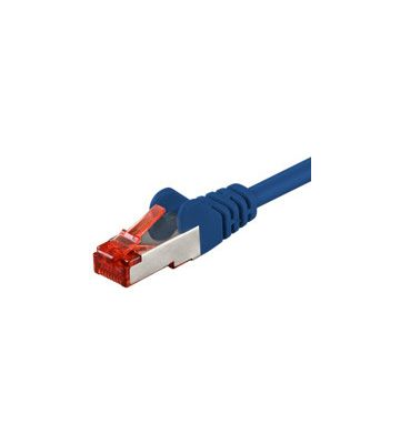 CAT6 SSTP/PIMF 2m blauw