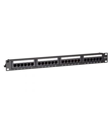 Patchpaneel Cat6 UTP 24 ports