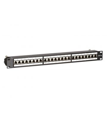 Patchpaneel Cat6a STP 24 ports