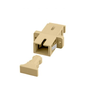 Multimode koppeling SC-SC simplex beige