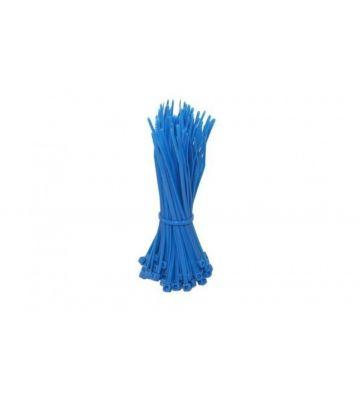 Kabelbinders 280mm blauw - 100 stuks