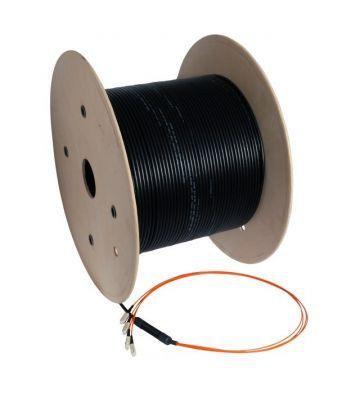 OM4 glasvezel kabel op maat 24 vezels incl. connectoren
